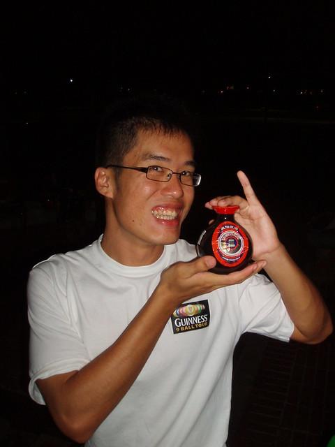 Sean, the Wu Hua Pi promoter | Flickr - Photo Sharing!