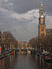 Westerkerk amsterdam western church (Baby Skinz) Tags: tower clock church amsterdam bike canal western westerkerk westernchurch