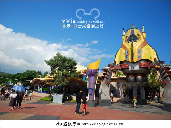 【香港自由行】跟著via玩香港(1)~爆走香港迪士尼樂園24
