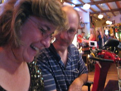 Sheila Scarborough and Darrell Hyatt