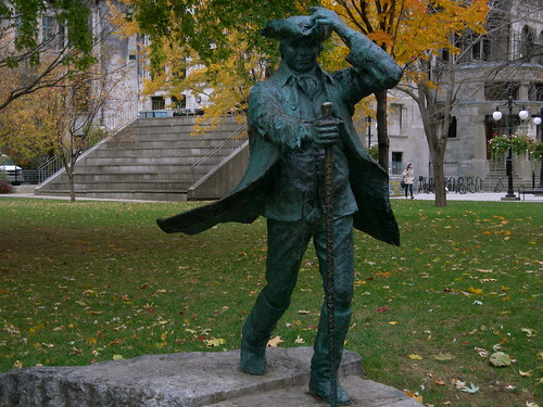 James McGill on a windy day