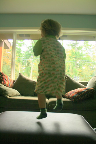 I practicing my ballerina!