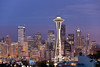 Seattle (seryani) Tags: seattle city light sunset sky usa building tower skyline night america skyscraper canon noche town washington twilight scenery downtown view northwest dusk grunge explore pacificnorthwest vista pugetsound kerrypark bluehour nuit nocturne mirador anochecer nocturnes noctambule explored colorphotoaward canoneos5dmarkii 5dmarkii canon70200f28lll