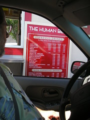 Human Bean Menu