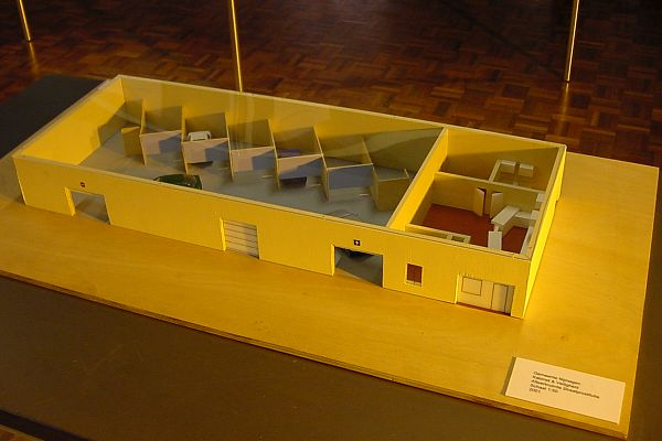 Model of afwerkplek, Nijmegen tippelzone