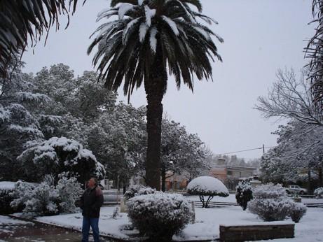 La Plaza de Hernando se vistio de Blanco