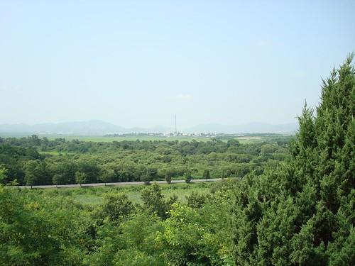 north korea flag pole. North Korea Flag Pole | Flickr - Photo Sharing!
