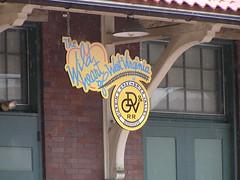 downtown Elkins, WV historic train station (rmcgervey) Tags: wv elkins