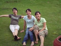3 mỹ nhân .... (zhongxiao_87) Tags: osaka hồ atràm