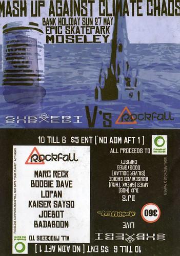Rockfall vs Subvert May 27th