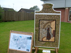 Clowne well dressing 2007 (Respect AKP) Tags: derbyshire 2007 welldressing clowne