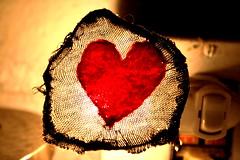 (martha burzynski) Tags: light bathroom wire heart sewing awesome felt homemade nightlight lovely madeofawesome
