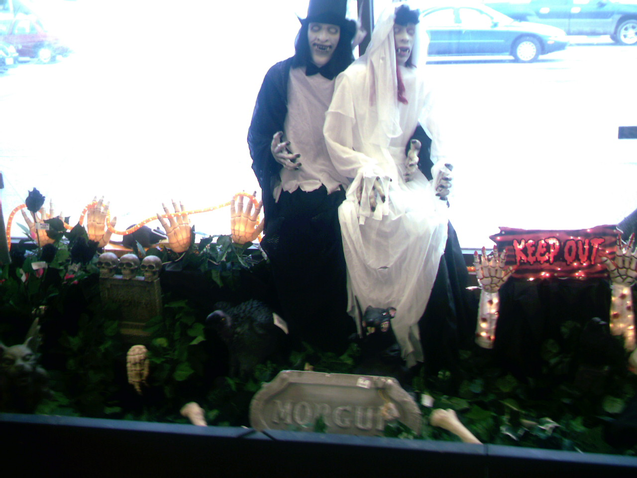 The King and Queen of the Dead?