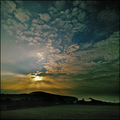Morning has broken, it wasn't me (Altocumulus Stratiformis) (s0ulsurfing) Tags: ocean morning sea sky cliff cloud sun seascape water beautiful weather clouds sunrise wow spectacular island dawn bay coast amazing skies searchthebest wind patterns wide shoreline wideangle cliffs coastal isleofwight coastline rays sunrays isle beams wight sunup sunbeams daybreak crepuscularrays splendid 2007 freshwater crepuscular altocumulus 10mm freshwaterbay sigma1020 outstandingshots s0ulsurfing thecloudappreciationsociety abigfave shieldofexcellence altocumulusstratiformis stratiformis