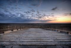 Walkway (Martin Cogley) Tags: uk sea beach saint st coast pier lancashire lytham annes hdr