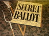 [3] Voting by secret ballot | The Newport Chartist Mural