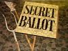[3] Voting by secret ballot | The Newport Chartist Mural