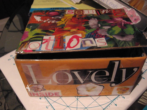 Notions box outside