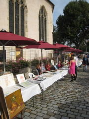 Puteaux, march aux peintres, vieille glise (Grbert) Tags: marche puteaux peintres vieilleeglise