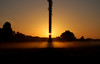 Shadow mist (whitbywoof) Tags: dog sunrise d50 nikon walk mast transmitter sandyheath piratetreasure piratetreasure2 5thoctober2007