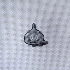 Metal Scorpion (benjibot) Tags: crossstitch crafts videogames crop nes dragonwarrior reshoot