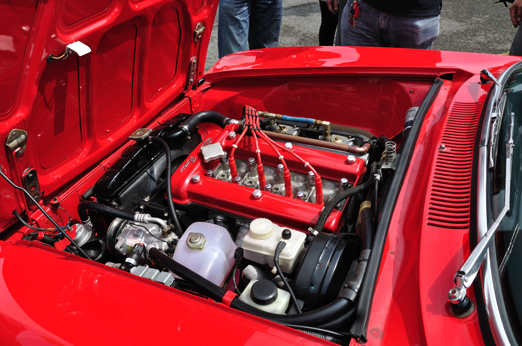 Alfa Romeo 2000 GTVeloce_Engine