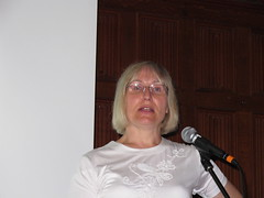 Sophie Wilson talking at VCF