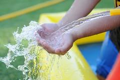 washing hands (mrehan) Tags: baby playing home boys wet water garden fun bath toddler child watersports splash watersculpture
