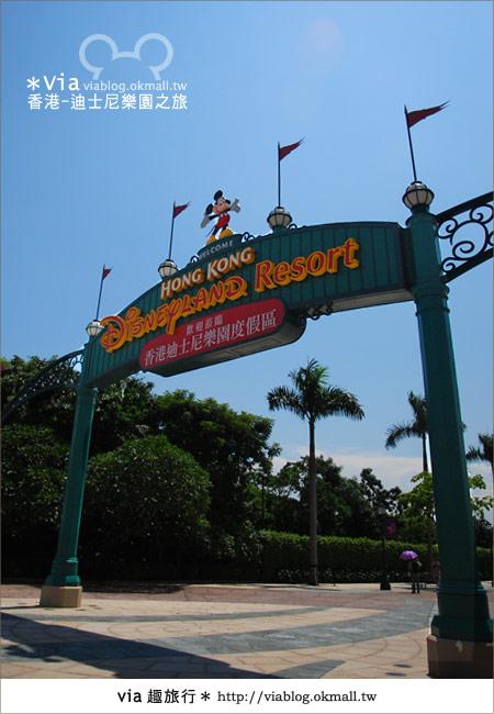 【香港自由行】跟著via玩香港(1)~爆走香港迪士尼樂園6
