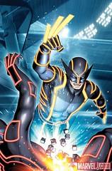 10 WOLVERINE #4 TRON Variant, featuring Wolverine 金鋼狼