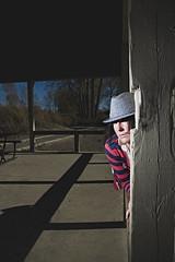 modern day Freddy Kruger (Sarah Burnie) Tags: selfportrait ontario canada halloween girl canon erieau strobist canon580 sarahburnieartist
