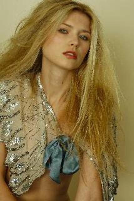 K Hendrix Couture paillette cape 2