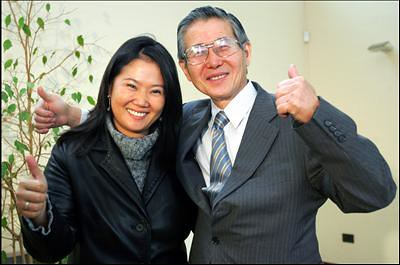 Keiko Fujimori battles evidence of her father's corruption