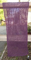 Garter mesh wrap