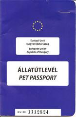 Pasaporte del perrón