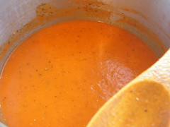Roasted Capsicum & Tomato Soup 1