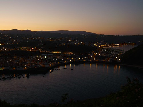 A Baia de Porto Pim