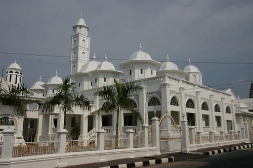 Abidin Mosque, Kuala Terengganu, Eastern Malaysia.
