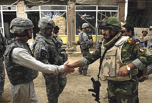 England Visits Iraq