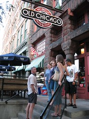 Outside Old Chicago