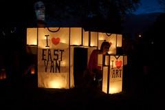 I heart t-shirt lanterns (Graham Ballantyne) Tags: canada vancouver bc illuminares lantern lanternfestival eastvancouver troutlakepark publicdreams canoneos30d canonefs1785mmf456isusm illuminares2007