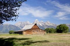 Mormon Barn (tomassvaton) Tags: park barn grand yellowstone mormon wyoming teton jacksonhole mormonbarn