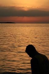 Solitudine AL Tramonto (man_drake) Tags: sunset sea tramonto croatia croazia istria mandrake fazana fasana impressedbeauty aplusphoto istriani zeroundici istrians