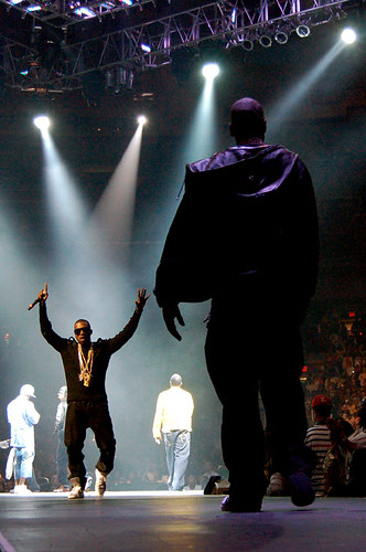 Kanye West and Jay-Z [Madison Square Garden / 08.22.07]