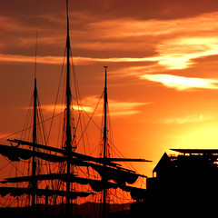 End of a Pirate's Day by ecstaticist, on Flickr