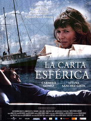 Póster La Carta esférica Carmelo Gómez Aitana Sánchez-Gijón Imanol Uribe
