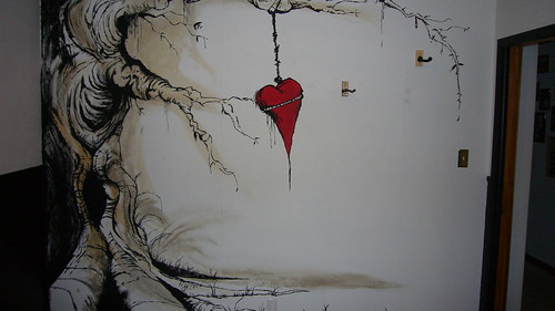 In Love And Death Used. In Love and Death Mural