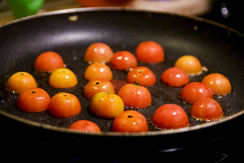 tomato butts.