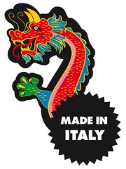 il famoso made in italy - the famous made in italy (SATOBOY SOCIAL VANDALISM NETWORK ACTIVISM GUERRILL) Tags: life street new urban italy streetart art nerd illustration poster still cool italian stencil sticker stickerart italia graphic handmade south style social pop vandalism network activism stile 2009 stickering grafica italiano vectorial unconventional guerrillaart vettoriale surrelism amanolibera satoboy netpop sharingart stickerguerrilla stickmyworld artenonconvenzionale
