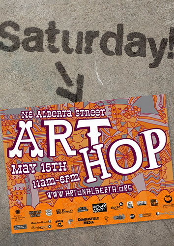 You're invited to the Alberta Street Art Hop!